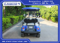 Engineering Plastic Body Electric Golf Carts, Max.speed 24km/h Electric Club Car