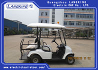 Low Speed Four Passenger Battery Operated Golf Cart Road Legal For Residential