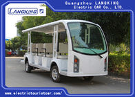 White Colour 2 seats + 2 Rows 72V Electric Ambulance Car For Emergency Closed Type