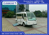 72V Dc Motor 5 Passenger Electric Tourist Car For Campus / Community