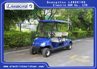 Mini 4 Wheel 4 Person Electric Club Car Golf Carts With 48V Battery Powered
