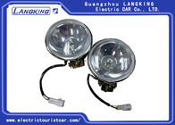 Universal Golf Cart Lights Club Golf Cart Parts Plastic Material Easy Installed