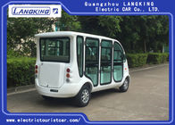28km/H Speed Electric Security Vehicles , 6 Seater Electric Car Front Bumper
