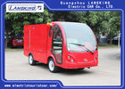 3.5 Meters Electric Fire Engine Car / Electric Freight Car 2 Seats 70km Range Dry Battery With Toplight