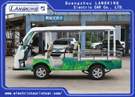0.9 Ton Loading Capacity 5 Person Electric Mini Truck With Roof 5KW Powerful Motor Left Hand Drive