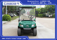 Green 48 Volt 3KW DC Motor 4 Seater Golf Buggy / Electric Club Car