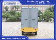 Cargo Vehicle Electric Luggage Cart 72V/5.5KW DC Motor Utility Electric Pick Up Truck