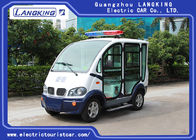4 Wheel Left Hand Drive 48V Electric Club Car Closed Door With Toplight