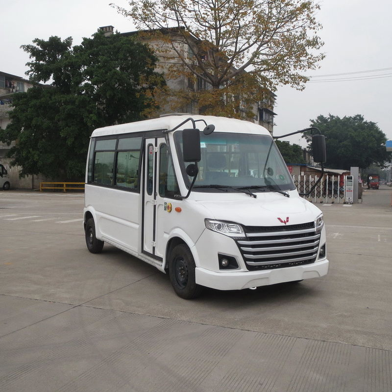 Small Electric Shuttle Car Gasoline Powered For Public Security Patrol