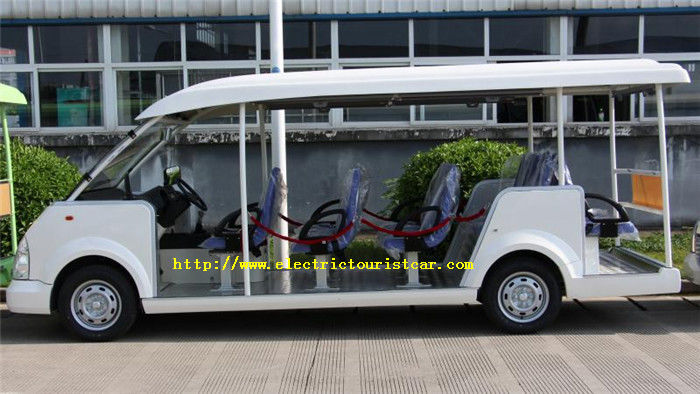 Custom Multi Passenger Electric Golf Carts , Electric Shuttle Car  Bus Gas Fuel