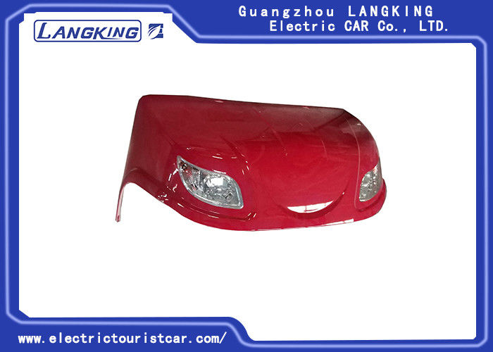 Red Club Car Front Suspension Parts Main Component Of Front Enclosure + Front Light