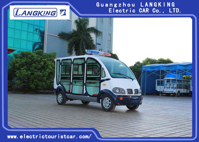 City Administration Electric Patrol Car For Passenger Transportation 3650×1520×2060mm